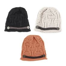 Fashion Winter Hats For Men Women Skullies Beanies Men Knitted Hat Male Caps Bonnet Warm Fur Brand Winter Beanie Hat Cap(China)