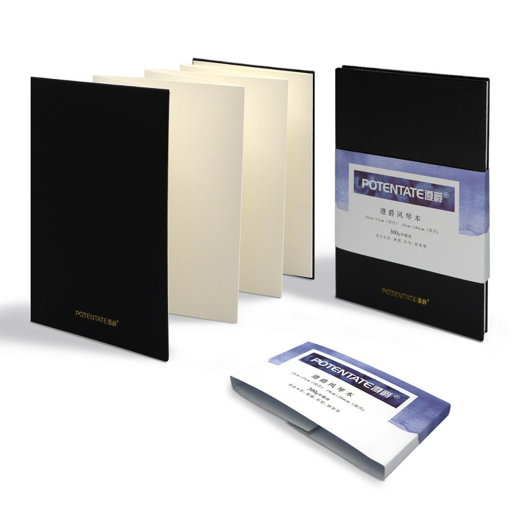 POTENTATE 300Gsm Handbook Watercolor Paper Notebook For Designer Drawing Sketch Record Artist Student