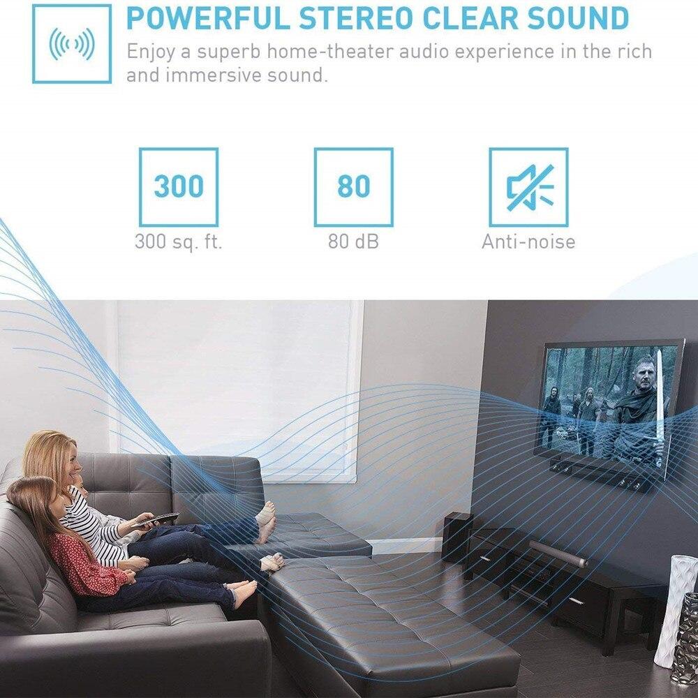 HYASIA PC Bluetooth Soundbar Musik Center Stereo Lautsprecher Drahtlose Lautsprecher TV Heimkino Akustische System Freisprechen TF AUX