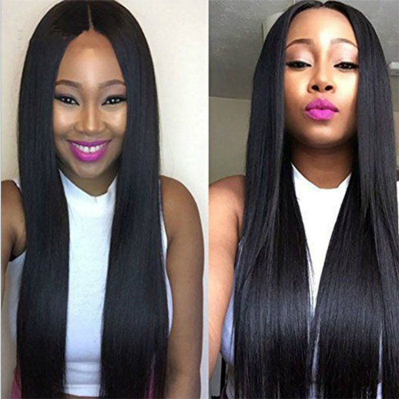 Glueless  Blonde Lace Front Wigs Remy Brazilian Straight Hair Lace Front Human Hair Wigs 13x4 Pre Plucked With Baby Hair 180%