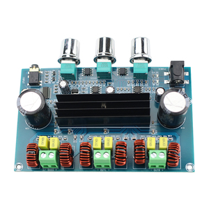 Image 3 - Ghxamp Bluetooth Amplificatore Audio di Bordo Bluetooth 5.0 TPA3116D2 2.1 Canali 50W + 50W + 100W Nuovo