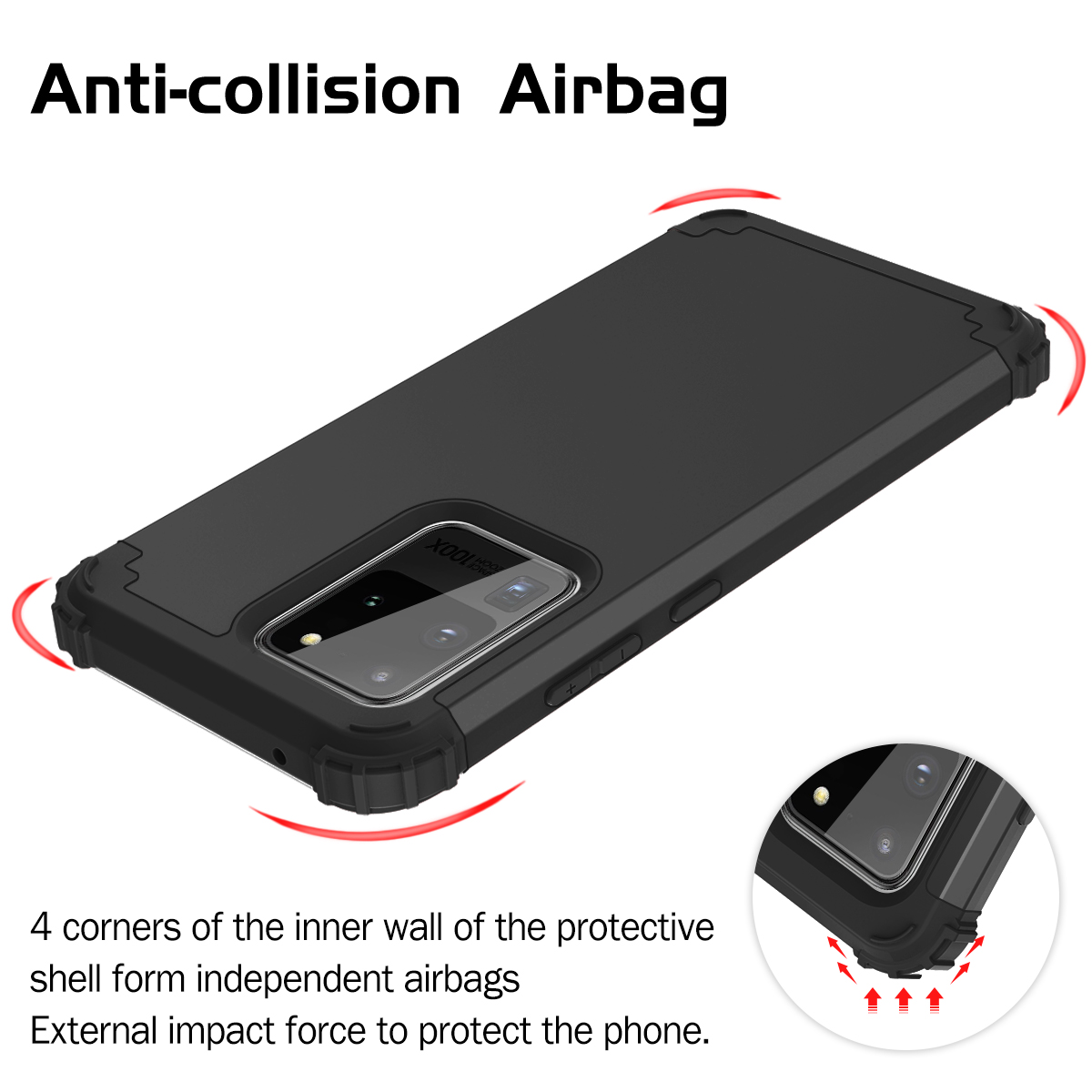 Full Body Case Cover Samsung Galaxy S20 Plus Ultra