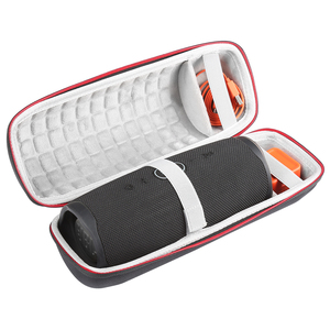 Image 3 - 2019 NEW Hard Travel Case for JBL Charge 4 Wave point Waterproof Bluetooth Speaker only case