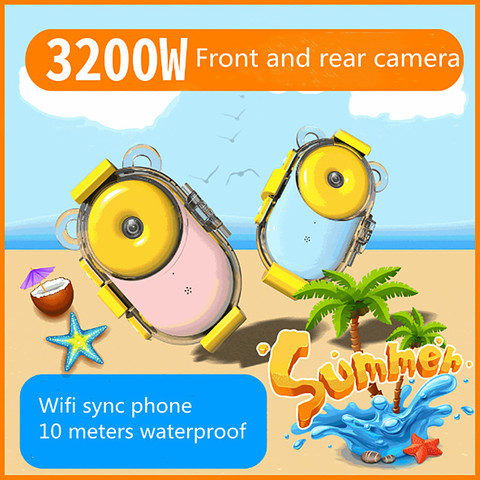3200 w camera a prova dwaterproof agua com wifi 2 4 tela hd camera das
