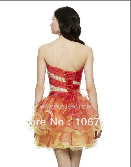2016 Hot&sexy free Shipping New A-line Beaded Vestidos Special Occasion Sexy custom Elegant Party short Cocktail Prom Dresses