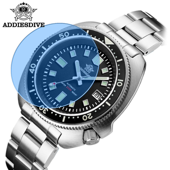 Waterproof automatic watch men Sapphire Crystal Stainless Steel NH35 Automatic Mechanical Men's watch 1970 Abalone Dive Watch 4