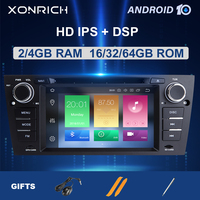 4GB 64G IPS DSP 1 Din Android 10 Car head Unit For BMW E90/E91/E92/E93 Multimedia Player Radio Navigation Stereo GPS DVD 8 Core