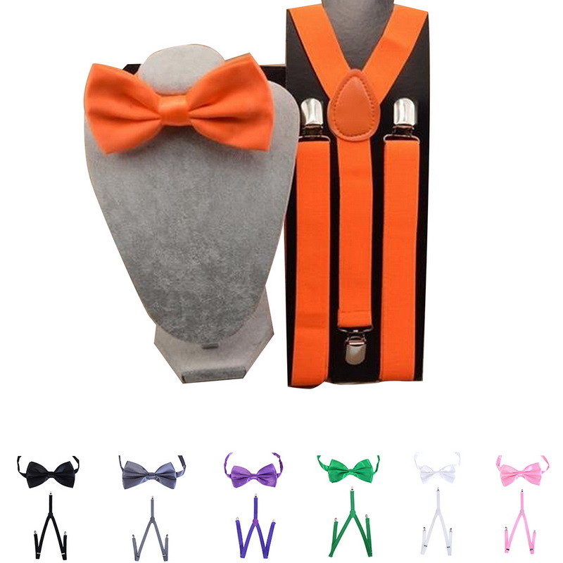 Candy Color Y-Shape Adjustable Braces Solid Suspenders Women Clip-on Elastic Suspenders Fashion Clothes Collocation