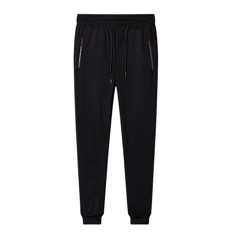 Yue New Style Autumn Casual Pants Men's Zipper City Fashion Pants Sports Men's Trousers Capri Pants Men's
