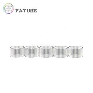 5pcs FATUBE Straight glass Cigarette Accessories for UD Goblin mini v1 v2 v3(China)