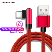 QC 4.0 USB Type-C Cable 5A Fast Charging