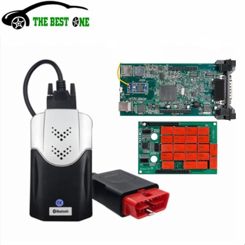 2021 новый VCI 2017.R3 с KEYGEN Multidiag PRO TCS Bluetooth зеленый двойной PCB V3.0 OBD2 сканер автомобильный грузовик диагностический инструмент