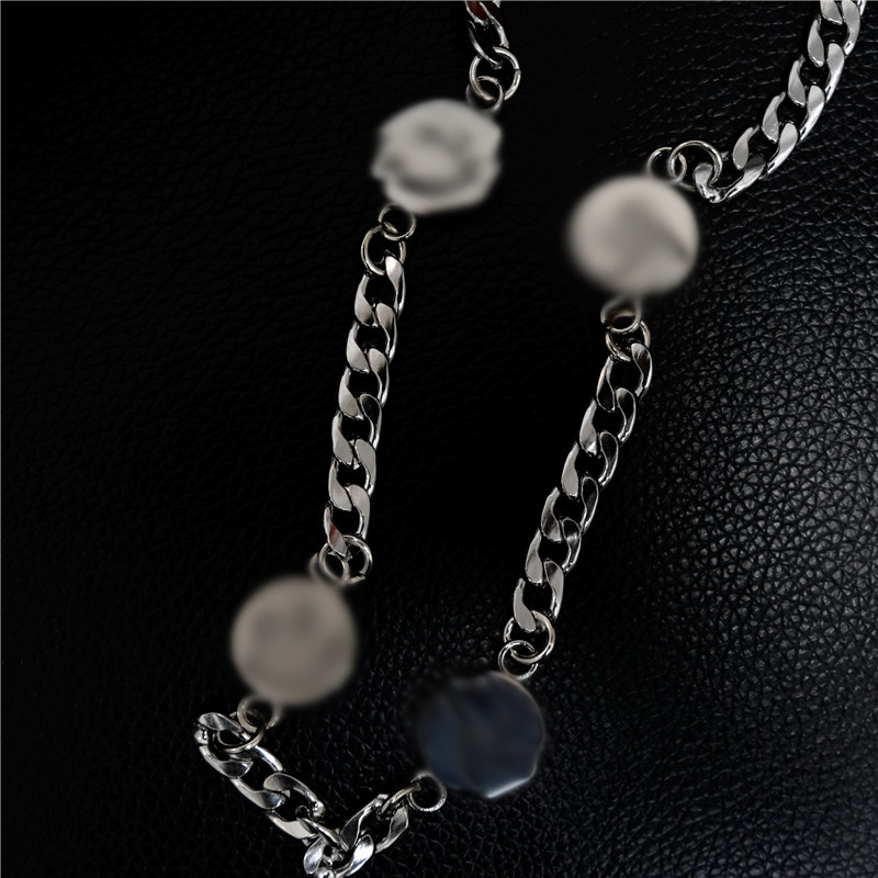 "Details about  /DC Superman /""S/"" Symbol Pendant Titanium Steel Necklace 23/"" Chain Jewelry Gift"