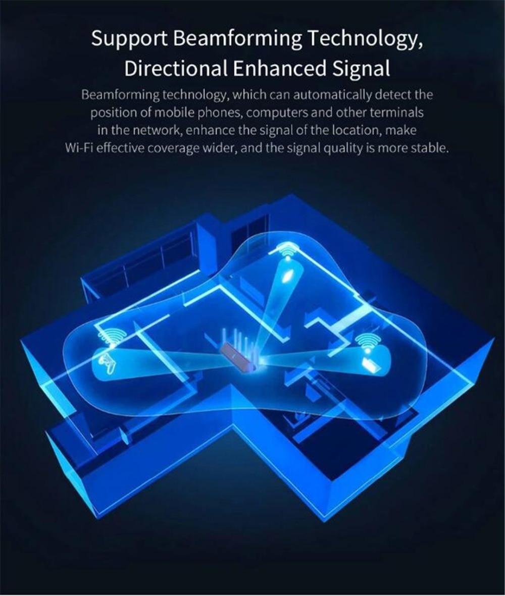 NEW Xiaomi AX3600 AIoT Router Wifi 6 5G Wifi6 600Mb Dual-Band 2976Mbs Gigabit Rate Qualcomm A53 External Signal Amplifier (19)