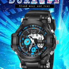 SYNOKE Men's Multi-Function 50M Waterproof Watch LED Digital
