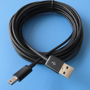 Image 5 - Cable Mini USB de carga de sincronización de 5 metros, 16 pies, tipo A 5 pines B Fr, cámara de carga de teléfono