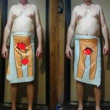 Sexy Man Woman Bath Towel Cartoon Pattern Microfiber 3D Print Adults Bathroom Outdoor Travel Sport Beach Streaking Towels Gifts