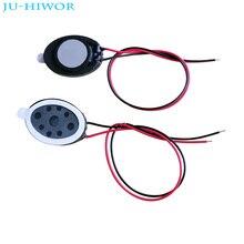 Haut-parleur acoustique 1510 1015 ovale, tablette téléphone, MP3, 1W, 8 Ohms, hauteur 3.5MM, avec fils, bricolage, fin et petit haut-parleur