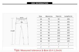 Image 5 - AIRGRACIAS Jeans Men Classic Retro Nostalgia Straight Denim Jeans Men Plus Size 28 38 Men Brand Long Pants Trousers