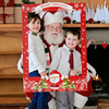Christmas Paper Frame Photo Booth Props Merry Christmas Party Decoration Photo Frame Xmas Photobooth 2020 New Year 2021 Decor