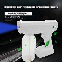 800ml Blue Light Nano Steam Atomizing Fogger Disinfection Sprayer With Battery Atomizing Fogger Machine Steam Spray Guns d3