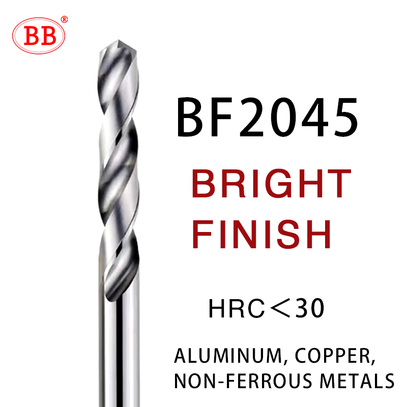 Solid Carbide Drill 80Mm 120Mm Long Length Tungsten Steel 1PCS CNC Hole Processing Bright Finish 4.5mm 120mm