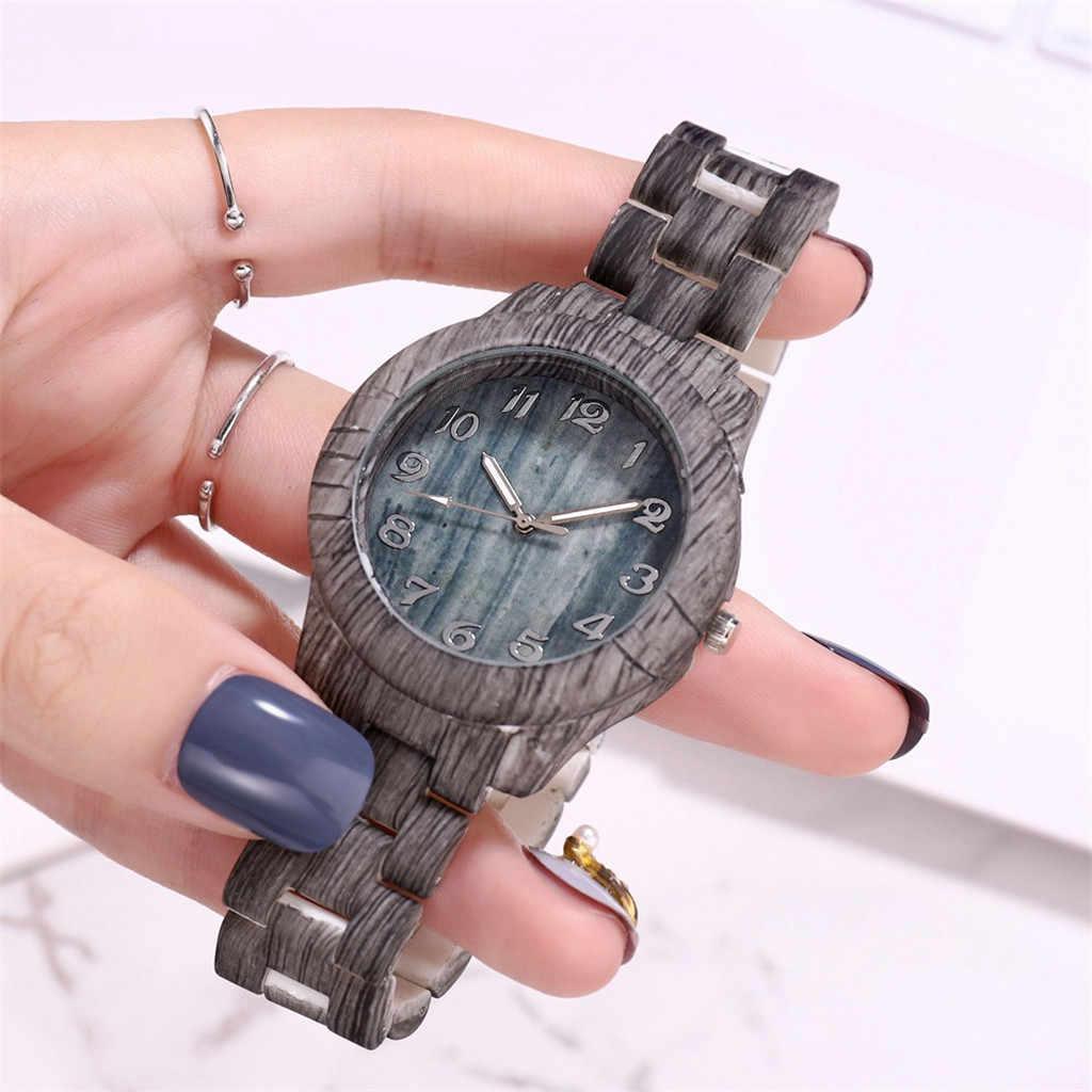 ผู้ชายนาฬิกาควอตซ์ไม้นาฬิกาผู้ชายHigh-Endแฟชั่นดิจิตอลไม้นาฬิกาควอตซ์Relojที่สมบูรณ์แบบนาฬิกา