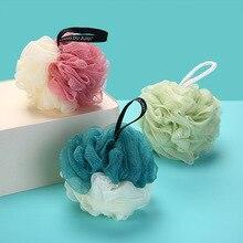Bath ball super soft large color matching bath ball Korean bath ball rubbing back bath towel bath flower bath ball