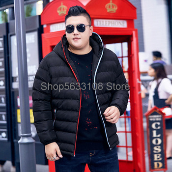 super Brand Boys Plus Fat Plus Size Cotton-padded Jacket Fat Super Large Size Popular Loose Cotton-padded Jacket Loose Youth