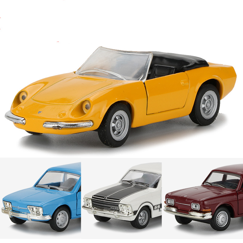 1:43 Alloy Car Toy Classic Cars Models Racing Car Diecast Vehicle Door Openable Pull Back Model Car Toys For Children Collectio