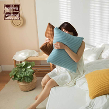 For Home Pillow  Minimalist Knitted Wool Pillowcase Sofa Home Furnishing Accessories Pillow Hugs
