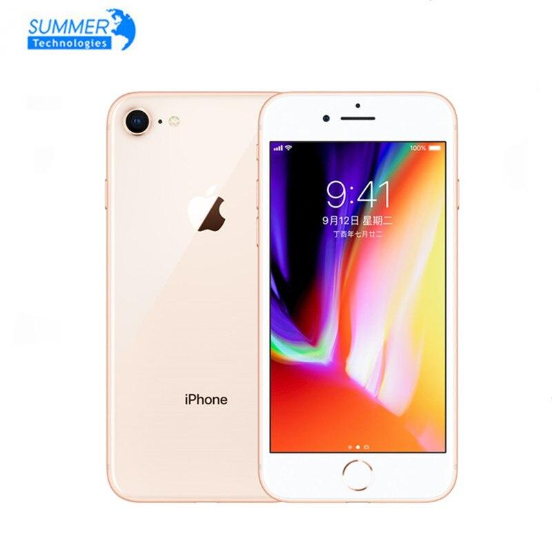 Оригинальный разблокированный Apple iPhone 8 LTE мобильный телефон 4,7