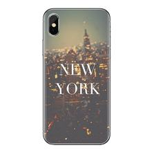 Zachte Transparante Bag Case Voor Lg Geest Motorola Moto X4 E4 E5 G5 G5S G6 Z Z2 Z3 G2 G3 C Play Plus Mini I Love New York Stad Nyc(China)
