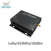 RS485 RS232 433 MHz לורה SX1278 TCXO E32 DTU 433L30 אלחוטי משדר ארוך טווח uhf 1W SX1276 433 MHz משדר rf מודול