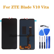 high quality LCD For ZTE Blade V10 Vita LCD Display Touch screen Digitizier Assembly for zte v10 vita Mobile phone repair parts free shipping black white top quality repair parts for zte blade l2 lcd display touch screen digitizer assembly