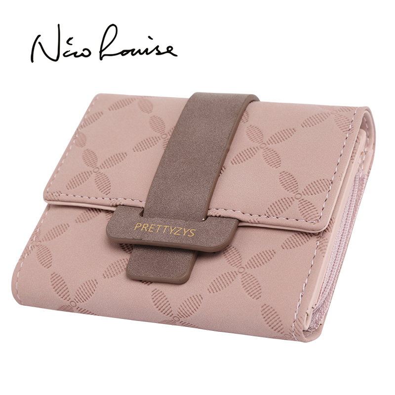 Fashion Female Wallet Leather Women Wallets Design Foldable Change Credit Card Lady Coin Purses Holders For Girls Carteira Sac