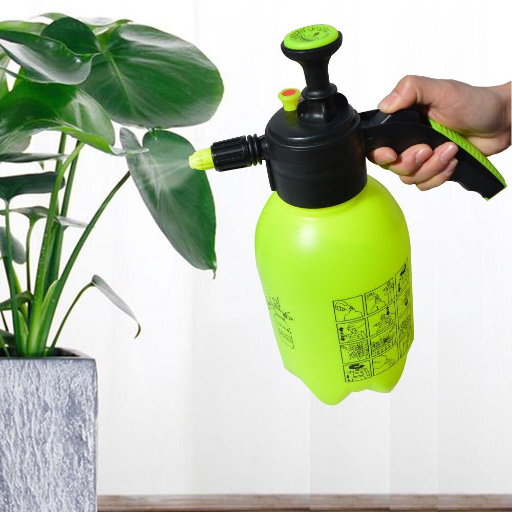 2L Hand Pump Water Sprayer Pressure Garden Spray Bottle Kettle Plant Flower Watering Can Pressurized Sprayer Watering Can