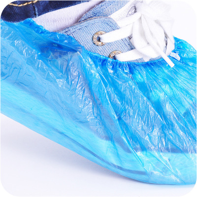 20/40 Pcs Waterproof Boot Covers Plastic Disposable Shoe Covers Over Shoes For Rain Shoe Covers Guests Family Disposable Tools
