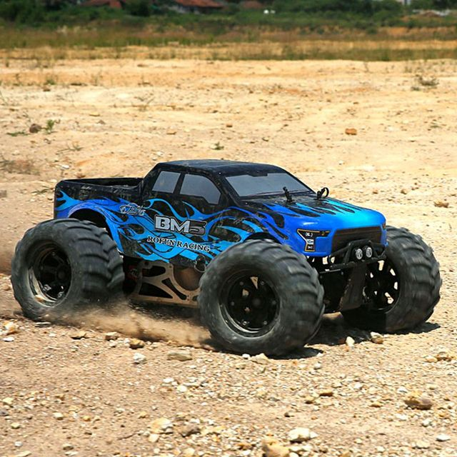 RC 1/5 scale 2019 rovan 29CC gas engine 4WD BM5 buggy short course truck ready to run RTR radio control baja cars