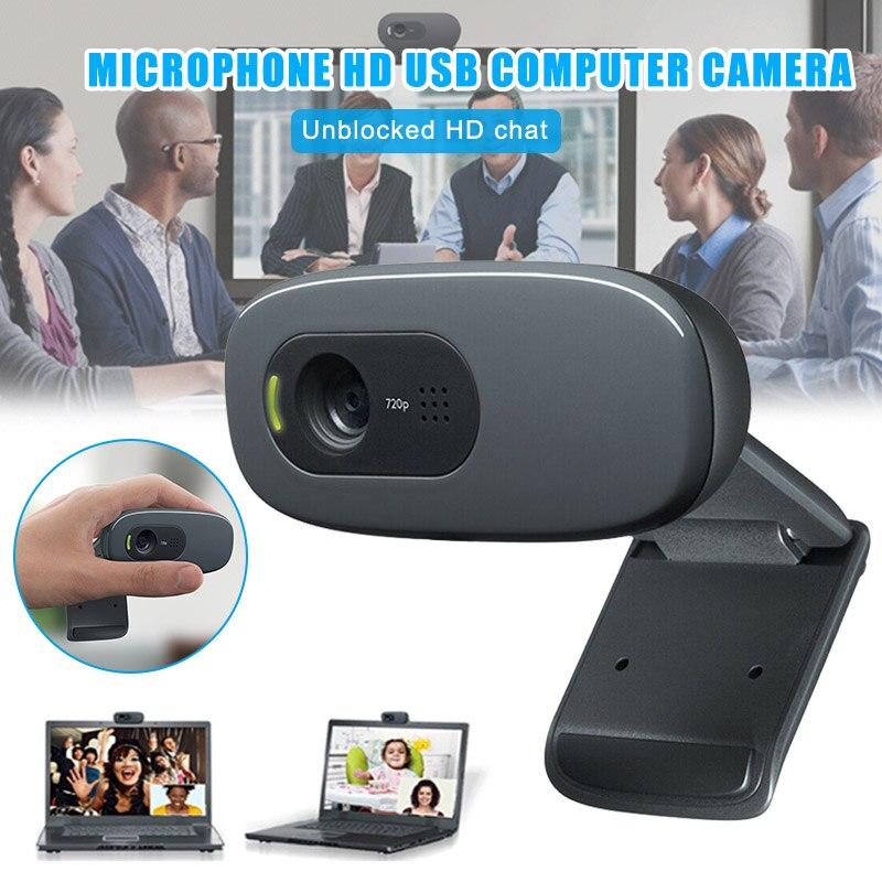 Caméra Webcam externe numérique caméras USB haute définition sans lecteur pour la conférence de classe en ligne DJA99