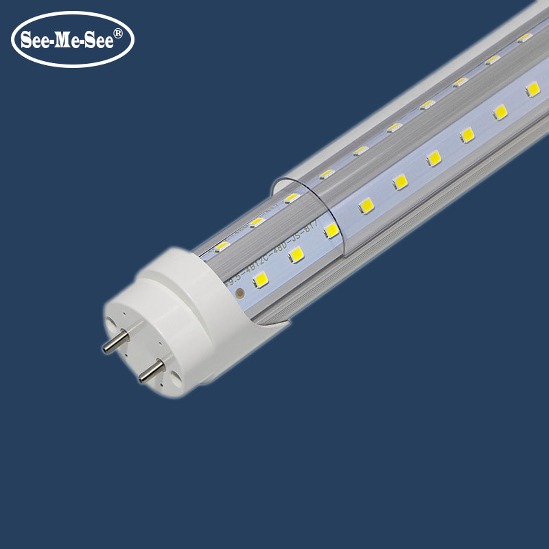 10PCS/Lot 1ft 2ft 4ft 5ft 6ft 8ft 300MM 600mm 1200mm 1500mm 1800mm 2400mm AC85-265V T8 V Shape Led Tube