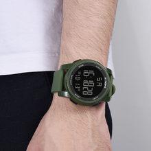 Casual wielofunkcyjny męski zegarek sportowy zegarek w stylu wojskowym elektroniczny zegarek LED podwójny zegarek z czujnikiem ruchu cyfrowy zegarek Relogio Hombre