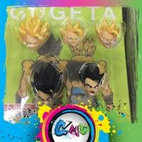 Demoniacal Fit Dragon Ball Z DBZ Custom headsculpt set for SHF Gugeta Anime PVC Toys Figure