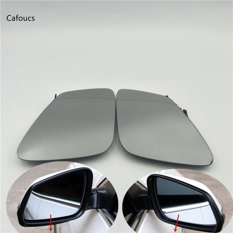 plate wing mirror glass Left side for Vauxhall Zafira B 10-16 Wide Angle elec