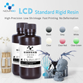 Fotopolímero líquido sensível uv do lcd dlp sla do material de impressão da impressora da resina 500 ml 3d de nova3d 405nm