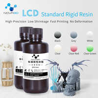 NOVA3D 405nm 3D Printer UV Resin 500ML Printing Material LCD DLP SLA UV Sensitive Liquid Photopolymer
