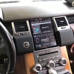 Image 3 - טסלה מסך לנד רובר ריינג רובר ספורט L320 2010 2011 2012 2013 רכב אנדרואיד מולטימדיה נגן 10.4 אינץ רכב רדיו GPS