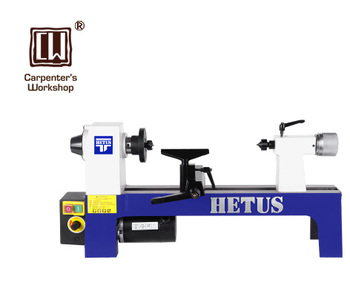 "8""  DC300W Variable Speed Benchtop Woodworking Lathe Wood Rotating Bench CE Certification"