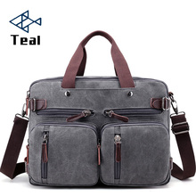2020 Men Canvas Bag Canvas Briefcase Travel Suitcase Messeng