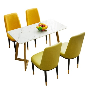 Nordic Dining Chair Modern Simple Home Restaurant Stool Back  Negotiate Nail Cafe Iron